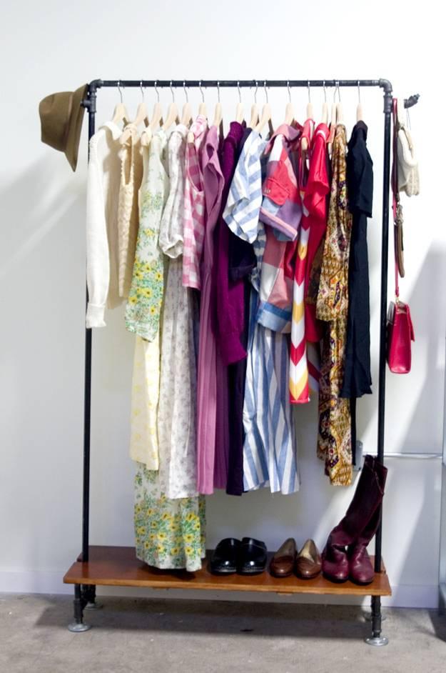 Как хранить вещи в доме: оригинальные идеи и фото
