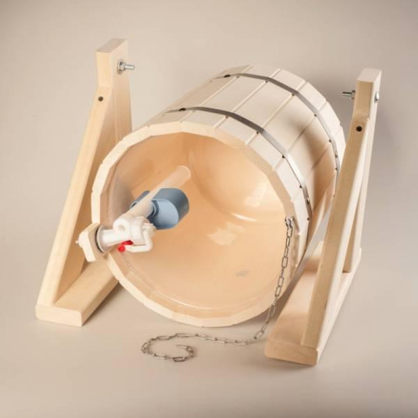Как выбрать и установить ведро обливное для бани и как сделать такое ведро самому