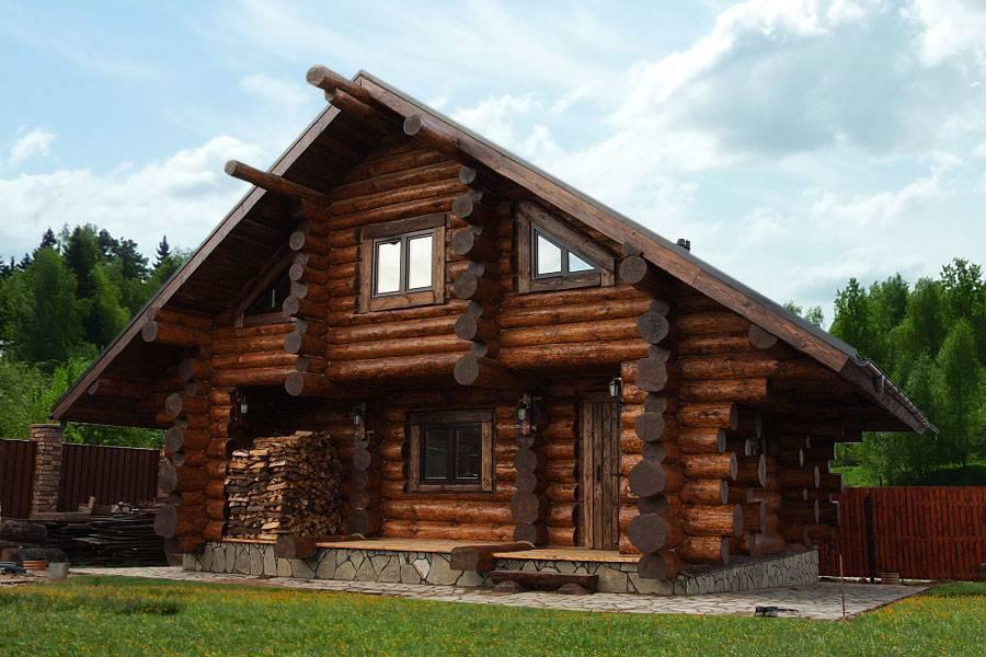 Плюсы и минусы строительства дома из оцилиндрованного бревна