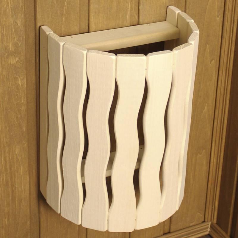 Деревянные абажуры для бани: подборка фото