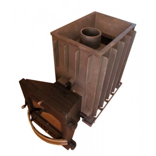 Конфигурация и характеристики чугунной печи для бани