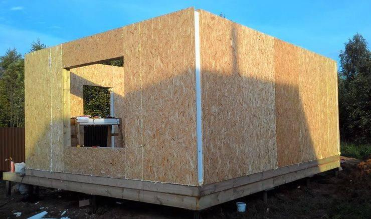 Строительство домов из сэндвич панелей: все плюсы и минусы каркасных технологий