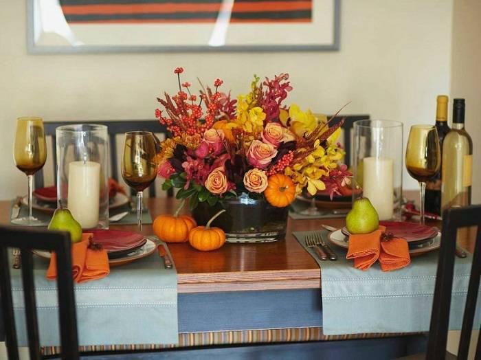 Украшение стола: как красиво оформить праздничный стол своими руками, декор и цветовые решения, как украсить в домашних условиях, правила сервировки