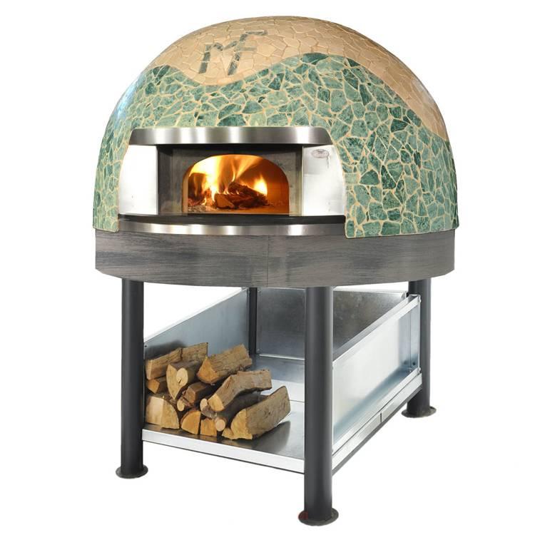 Приготовит выпечку за 5 минут: итальянская печь для пиццы на дровах