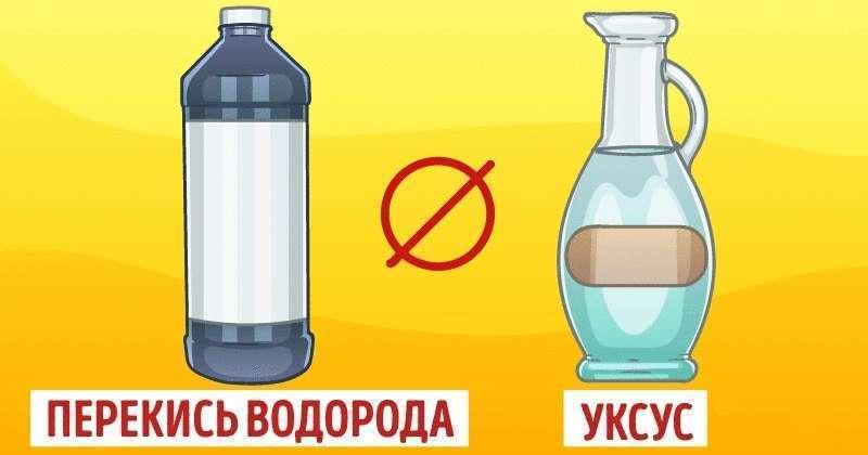 Белизна не «дружит» с уксусом: бытовые препараты, которые не стоит смешивать