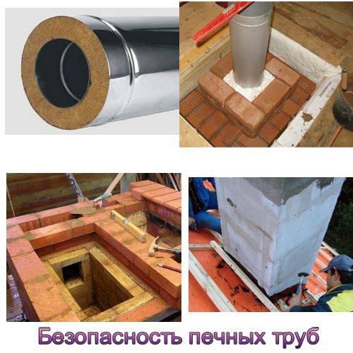 Чем утеплить металлическую трубу дымохода: материалы, методы и виды