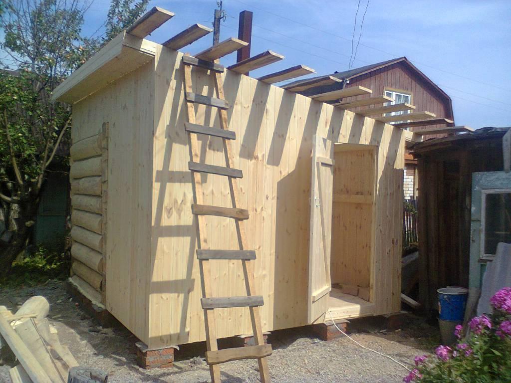 Строим бюджетную баню на даче — быстро и недорого своими руками