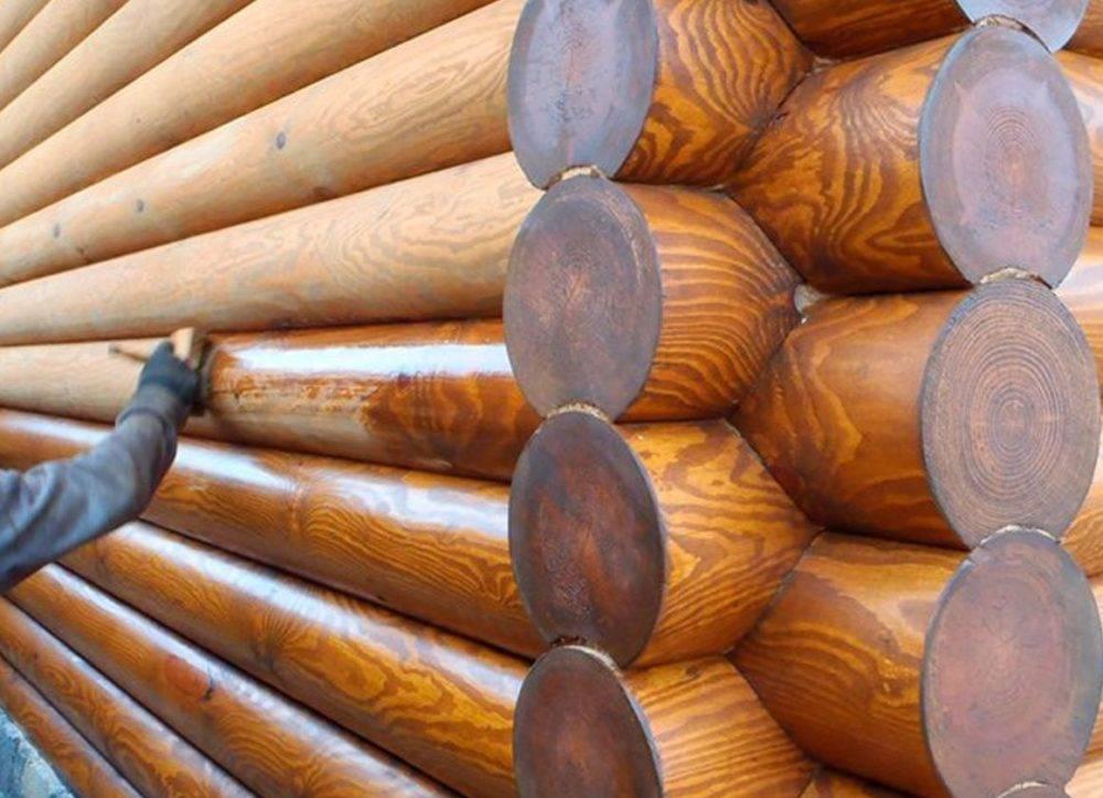 4 варианта чем обработать сруб бани снаружи [+9 фото]