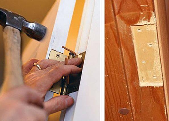 Что делать, если заклинило дверь в квартире?