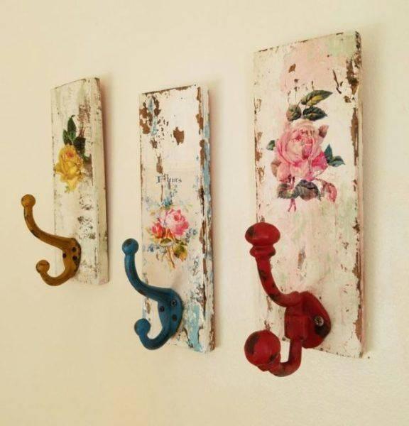 Декоративные крючки своими руками из необычных материалов: вдохновляющие идеи