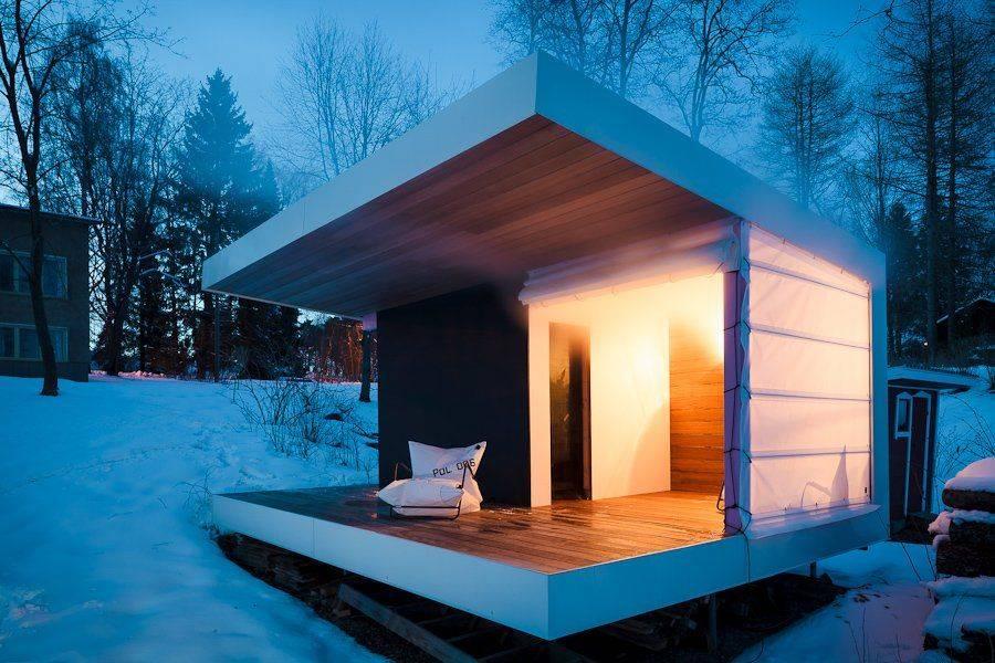 Баня в стиле модерн: фото интерьеров