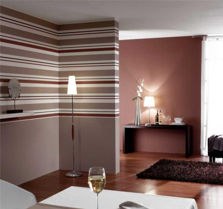 Обои в полоску (64 фото): полосатые стены в интерьере, выбираем вертикальные или горизонтальные полосы, яркие и светлые, текстуры и материалы