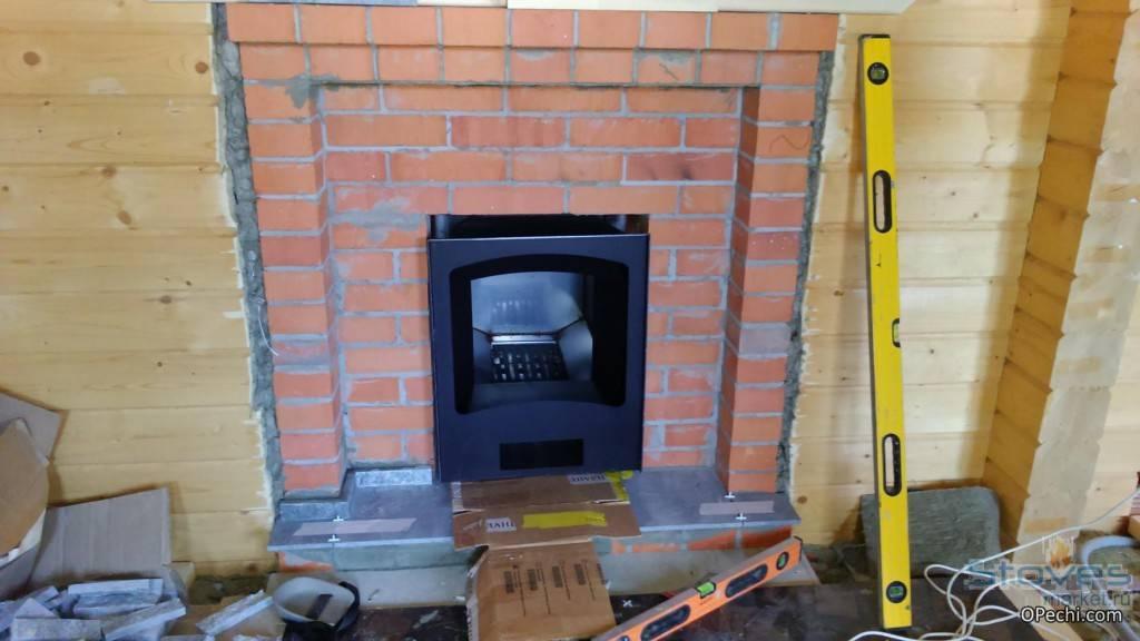 Установка печи в бане на деревянный пол пошагово с соблюдением противопожарной безопасности