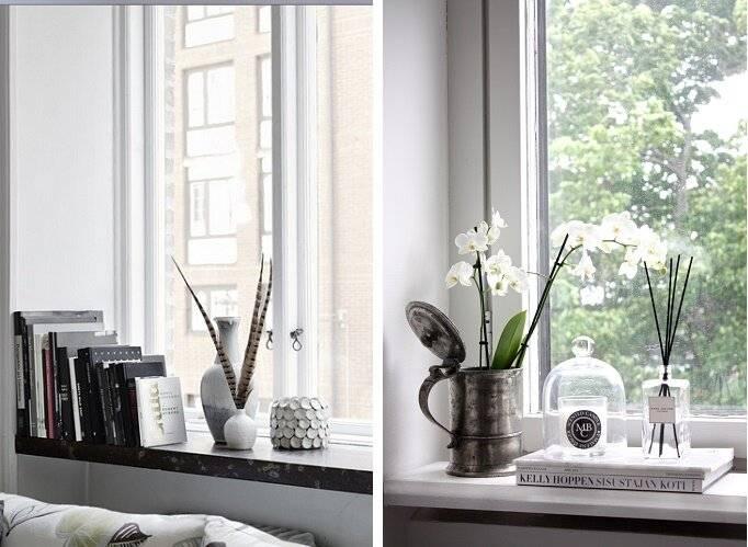 Как украсить подоконник: лучшие фото и советы | lavanda-decor | яндекс дзен