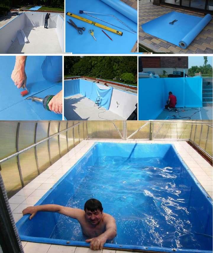 Лестница для бассейна своими руками из полипропиленовых труб: пошаговая инструкция, чертежи, материалы