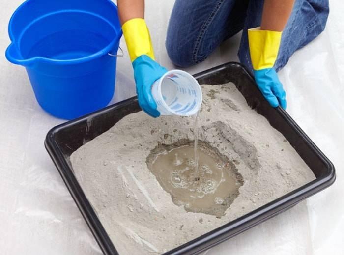 Жидкое стекло: состав, свойства и применение в строительстве  
