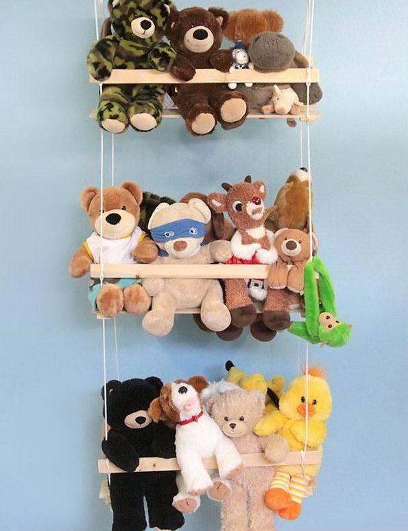 Идеи и советы по хранению игрушек в детской комнате