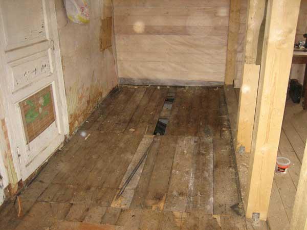 Ремонт старого деревянного дома своими руками [63 фото]