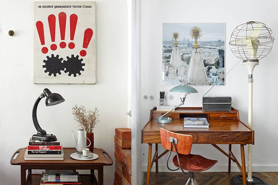 Советская мебель в современном интерьере - фото примеров