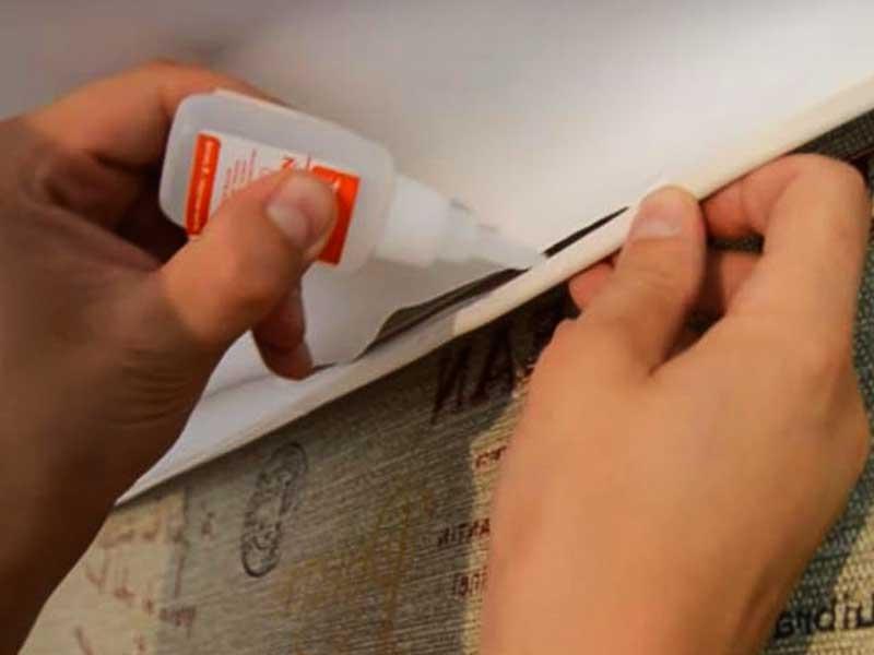 Как заделать дырку в натяжном потолке своими руками
