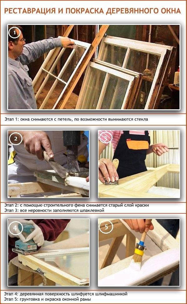 Стоит ли реставрировать деревянные окна?