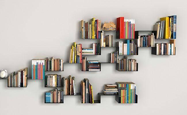 Книжный шкаф — 62 фото самых удобных и качественных вариантов