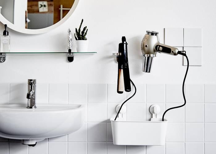 Держатель для фена — современные аксессуары для ванной. 105 фото лучших идей