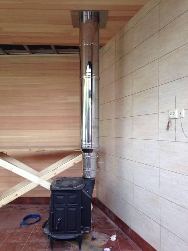 Как сделать дымоход для бани через стену своими руками — пошаговое видео, фото