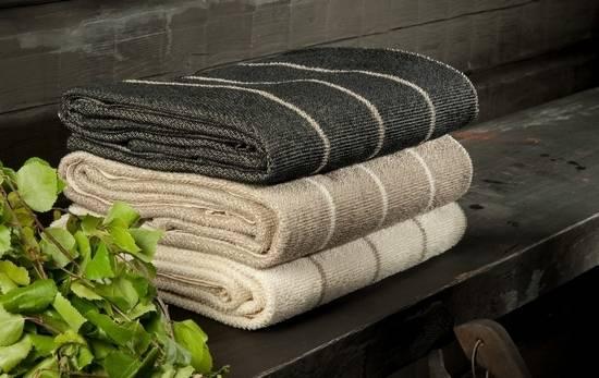 Как выбрать полотенце для бани?