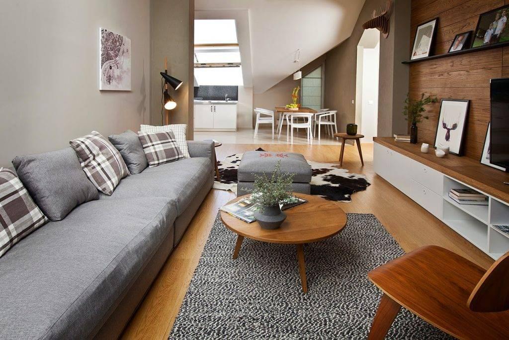 Дерево в интерьере: современный дизайн квартиры и дома под дерево