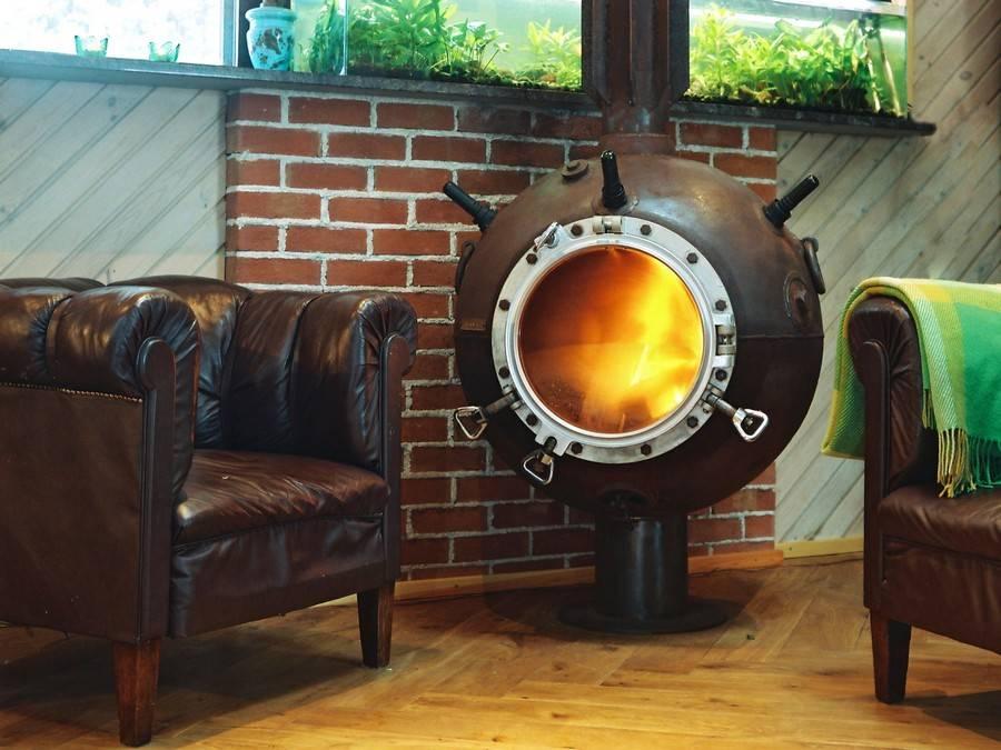 Печка буржуйка для дачи: 19 идей для уюта вашего загородного дома
