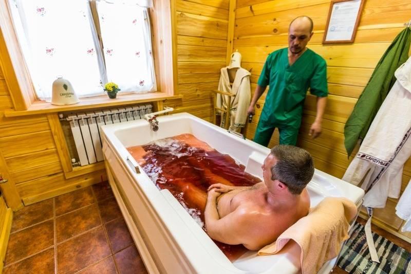 Лечение пантовыми ваннами на алтае
