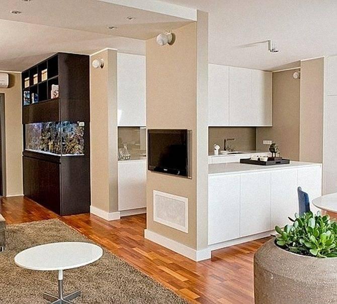 Кухня, совмещенная с гостиной: плюсы, минусы, приемы зонирования   домфронт