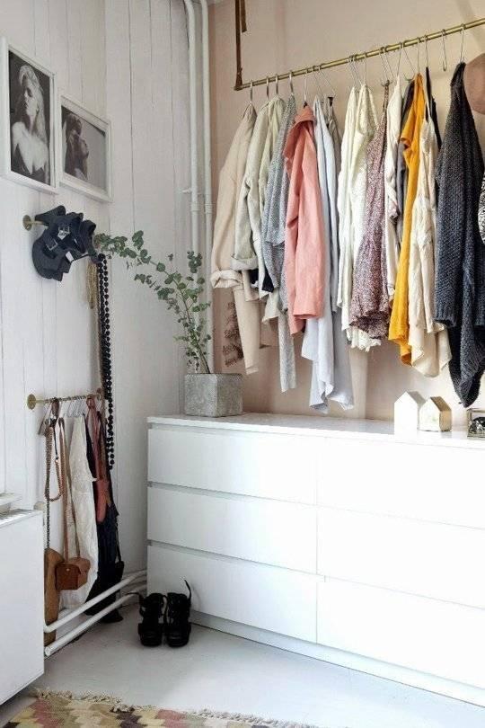 Если нет шкафа: несколько интересных идей для хранения одежды и обуви - квартира, дом, дача - медиаплатформа миртесен