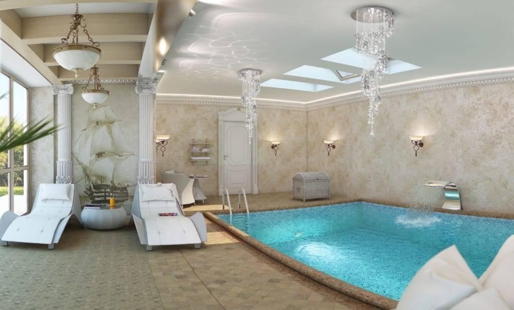 Греческий стиль в интерьере - свежий и красивый дизайн