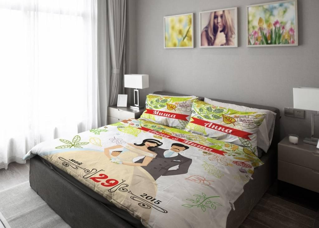 Как компактно сложить постельное белье?
