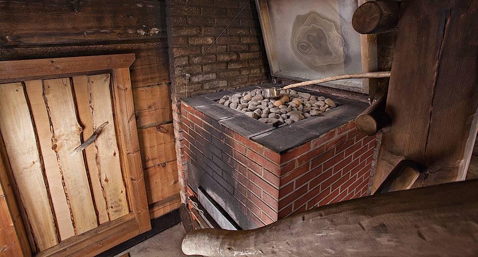 Установка печи в бане с выносной топкой: монтаж своими руками
