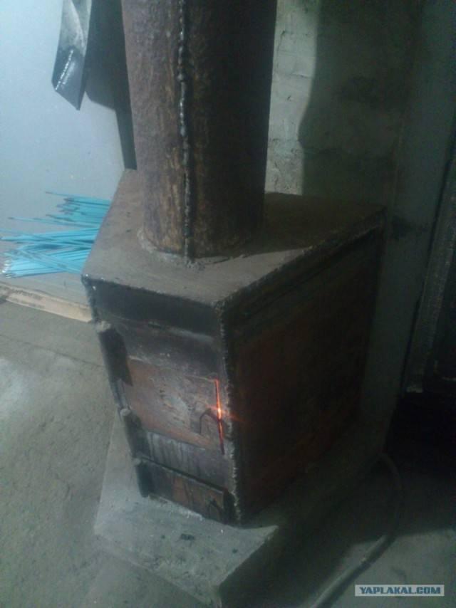 Как выглядят печи длительного горения из кирпича на дровах?