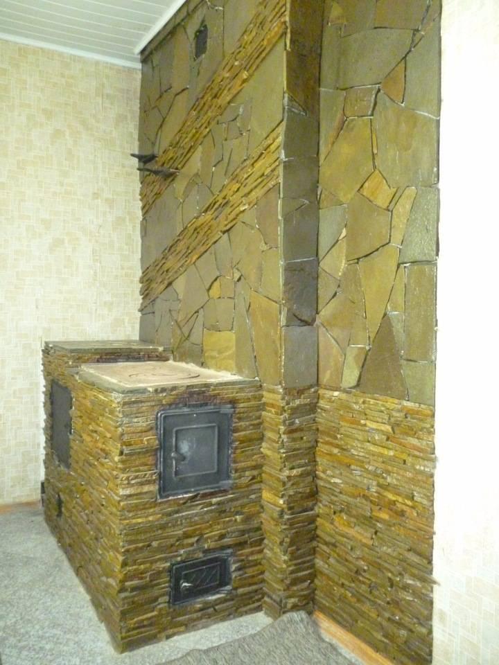 Облицовка каминов камнем. отделываем с помощью искусственного камня