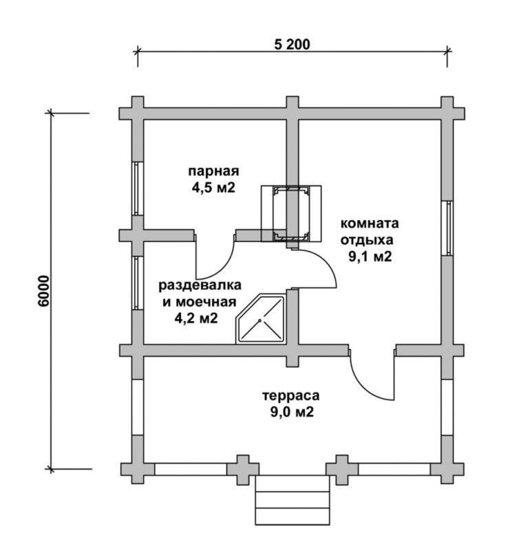 Баня из шлакоблока своими руками: плюсы и минусы