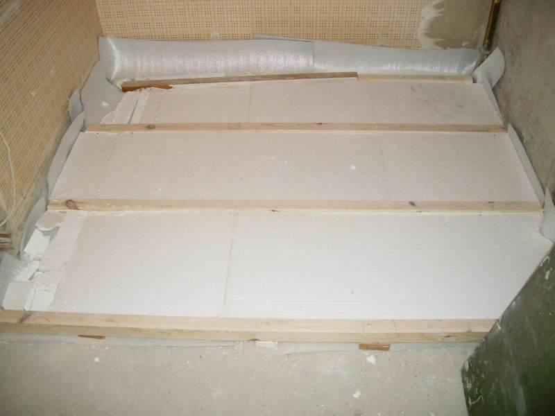 Как утеплить пол в бане - бетонный и деревянный + в разных помещениях