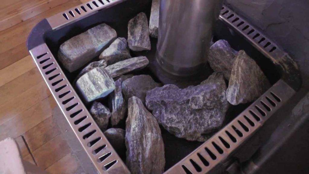 Камни для электрокаменки: как правильно уложить, какие камни лучше