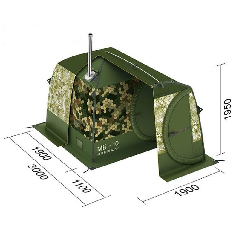 Баня-палатка с печкой: проект внутри и печь для походной бани