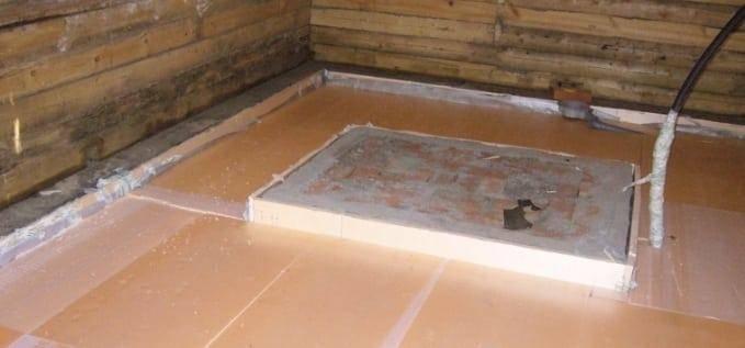 Холодный пол в бане – варианты решения проблемы, утепление. холодно в парной. что сделано не так? в бане холодный пол что делать