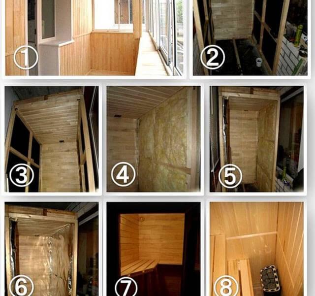 Как построить сауну своими руками - инструкция!