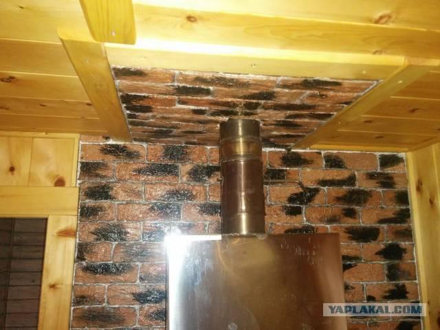 Труба для бани: размеры, схема, материал, монтаж