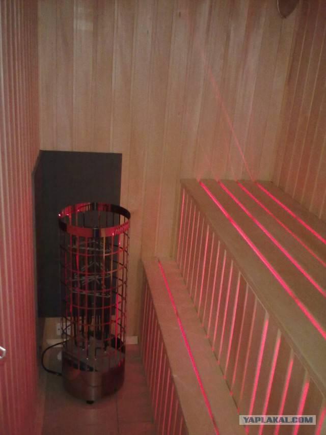 Сауна на балкон: можно ли