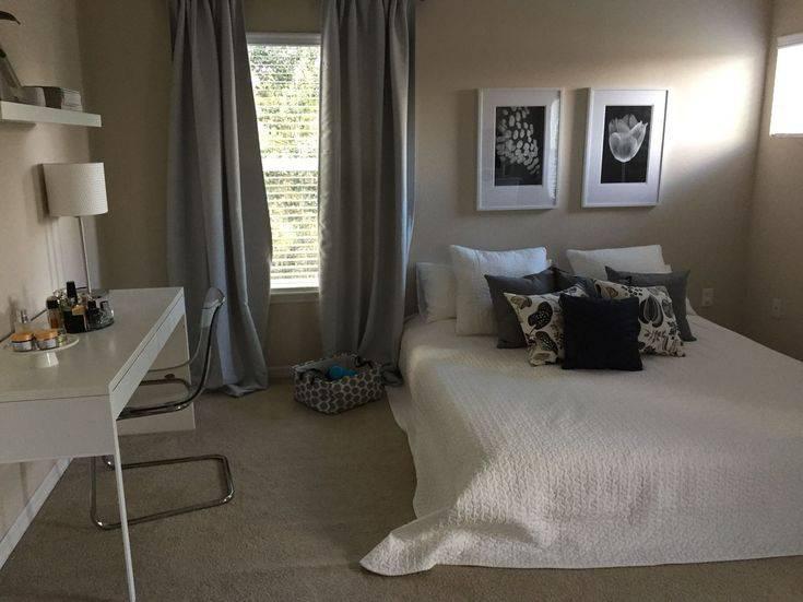 Диван и кровать в одной комнате (46 фото): дизайн однокомнатной квартиры с диваном и кроватью, особенности расстановки мебели в интерьере комнаты 18 кв м