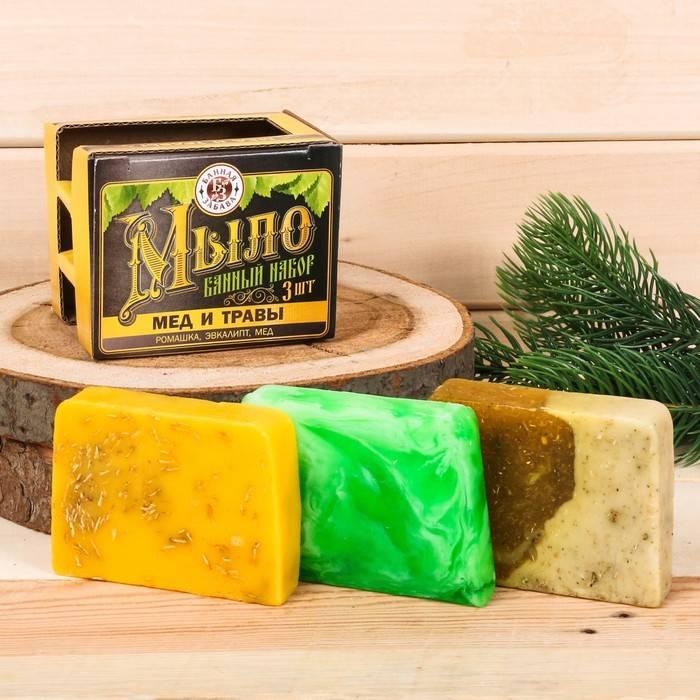 Принципы выбора и изготовления мыла для бани
