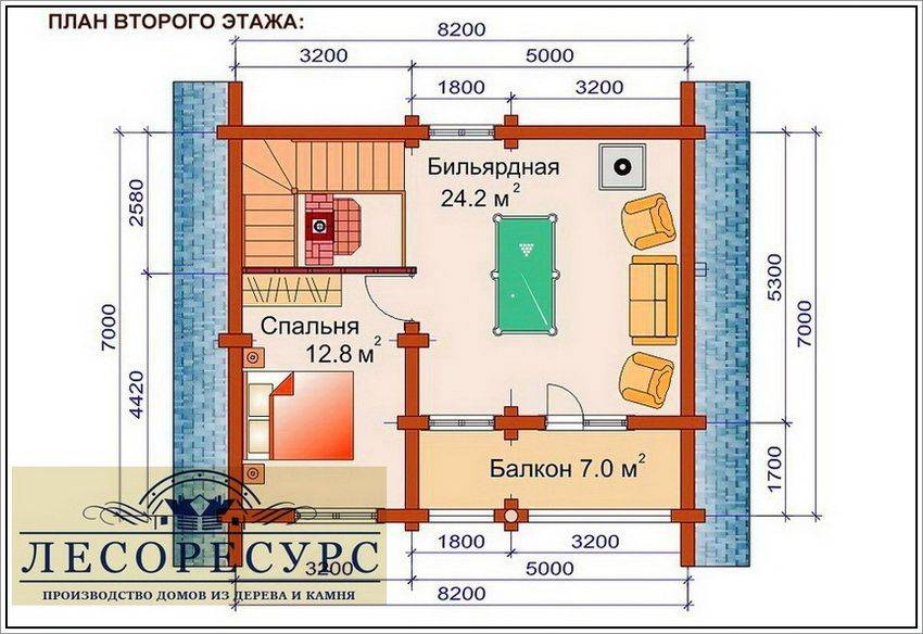 Двухэтажная баня: строительство своими руками